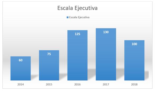 grafico escala ejecutiva