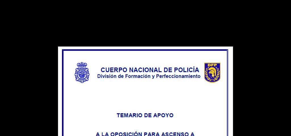ascenso policia